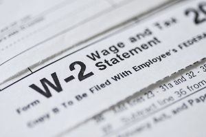 Form W-2 for payroll processing